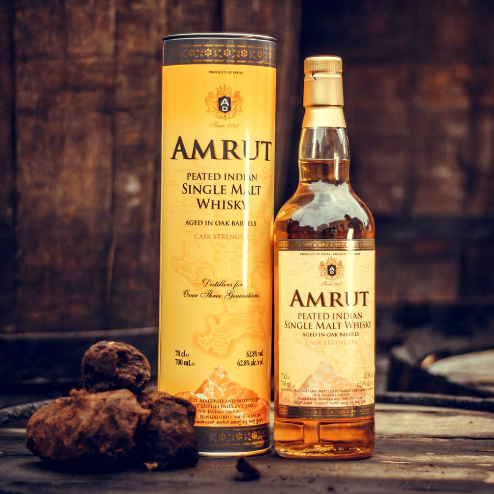Amrut Peated Indian Cask Strength